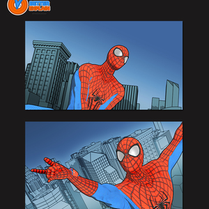 Default spider man   sample design