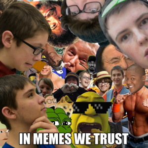 Default in memes we trust   album art