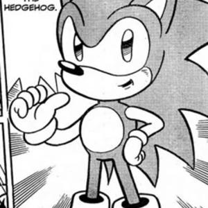 Default sonic  manga