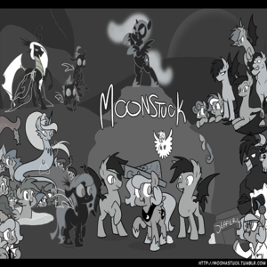 Default moonstuck   everypony together by egophiliac d563cnc