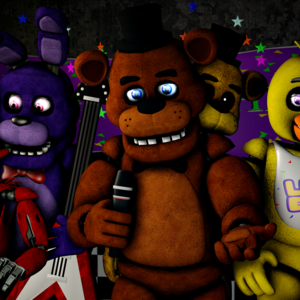Default our family photo  freddy fazbear 1st piece  by talondang d9drkto
