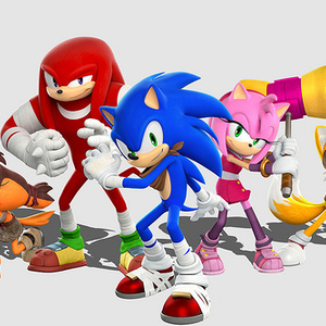 Default sonic boom   characters