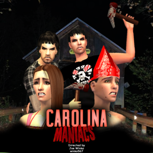 Default carolina maniacs offical poster