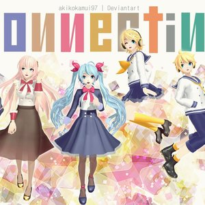 Default project diva vocaloid   connecting by akikokamui97 d8yc416