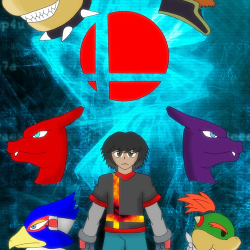 Default erston in smash poster