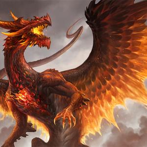 Default red crystal dragon by sandara d9xs66f