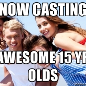 Default teen casting