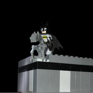 Default batman on a gargoyle