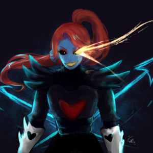 Default undyne genocide route by kurisu chris da2ntim