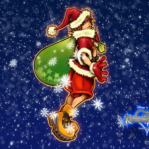 Default santa sora by thelittle bloodtalonneed kingdom hearts pleasepreferably manga anime desktop 1024x768 wallpaper 147846