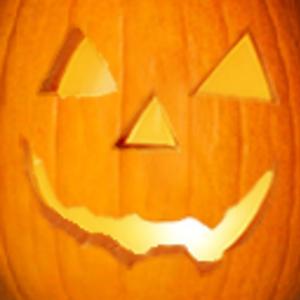 Default pumpkin face on