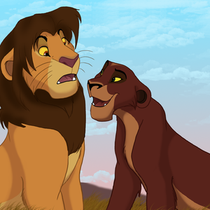 Default genderbend kovu and kiara