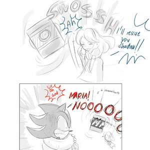Default shadow the hedgehog comic by missyuna
