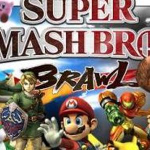 Default super smash bros brawl poster