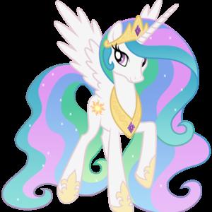 Default fanmade princess celestia walking