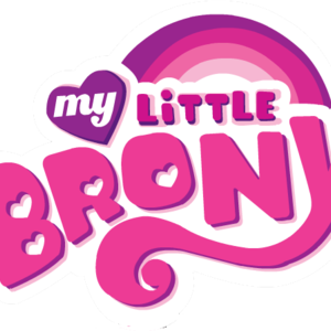 Default my little brony logo transparent