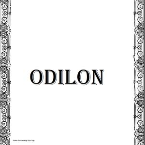 Default odilon cover
