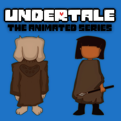 Default undertale animated poster final