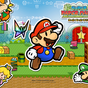 Default super paper mario 1