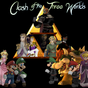 Default clash of the three worlds logo