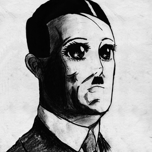 Default hitler cartoon character 4