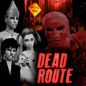 Default dead route casting call poster