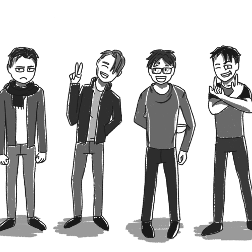 Default yoi characters