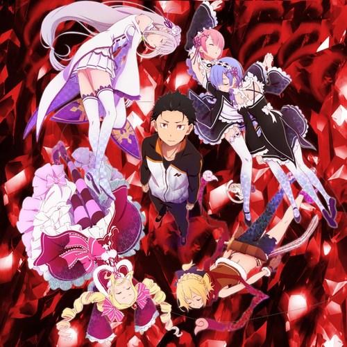 Default re zero kara hajimeru isekai seikatsu anime visual 00