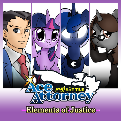 Default elements of justice mock cover art by thealjavis