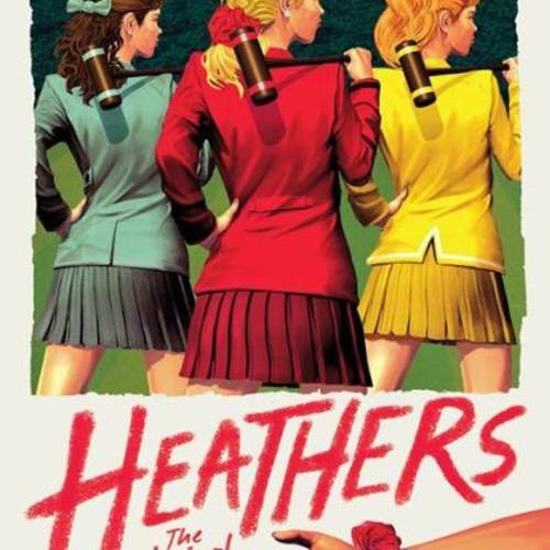 Default heathers the musical off broadway poster