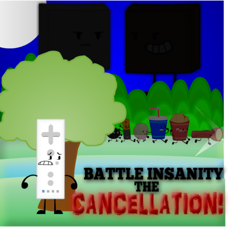 Default battle insanity the cancellation poster