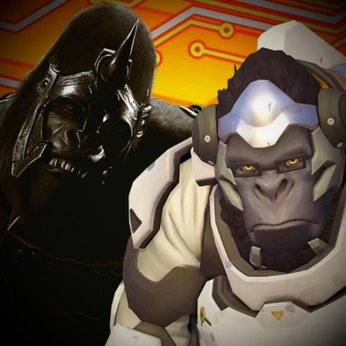 Default winston vs gorilla grodd