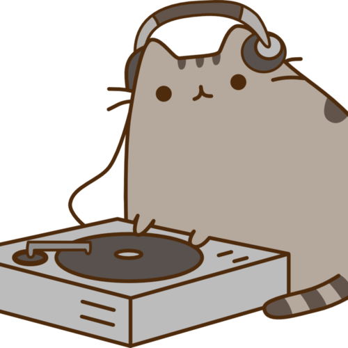 Default dj pusheen by betamax777 d8izswo