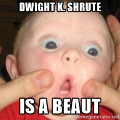Default dank dwight meme