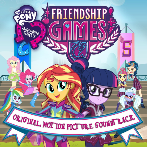 Default equestria girls friendship games soundtrack album cover