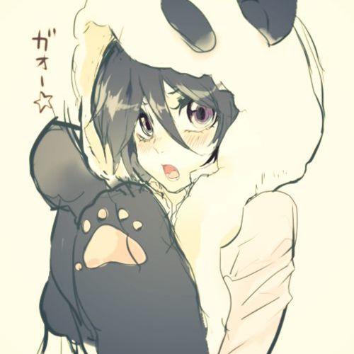 Default 70ff21127ee2a5e1b05167f3c2a25de3  panda anime girl anime girls