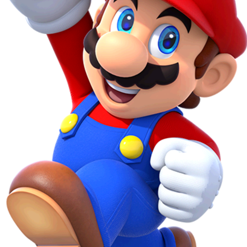 Default character large mario