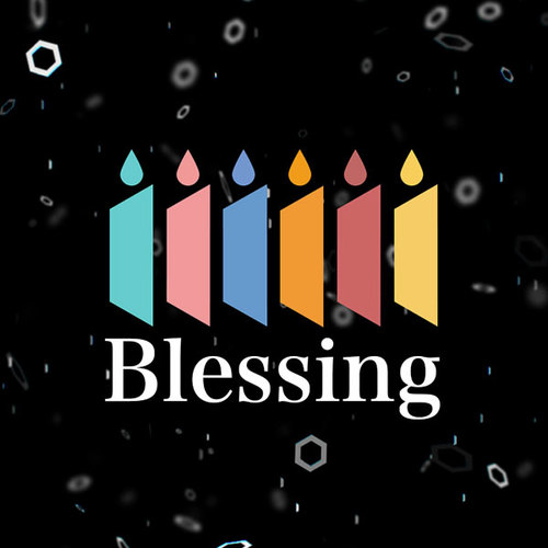 Default blessing logo2c