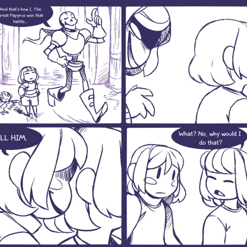 Default    having fun    1   undertale comic