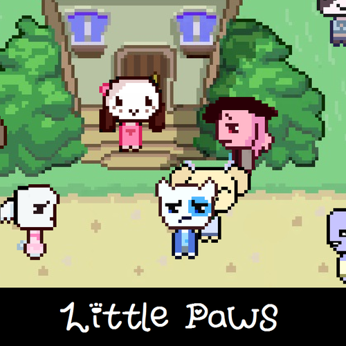 Default little paws  cover