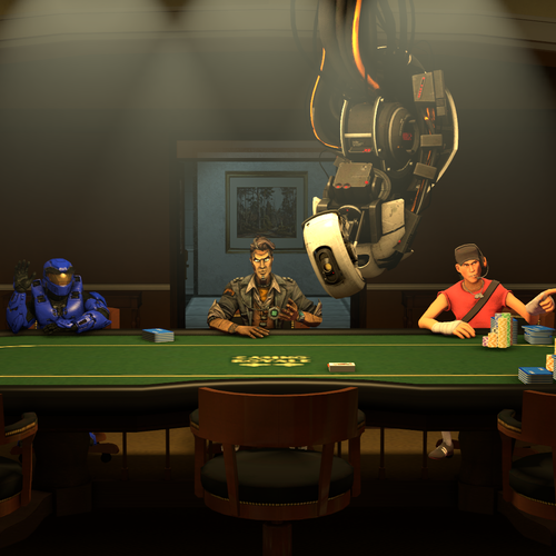Casting Call Club : Poker Night 3 (Fan Made)