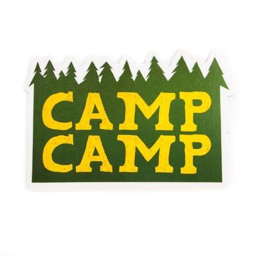 Default camp camp sticker logo large