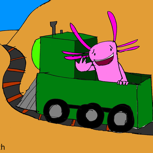 Default the axolotl express by mitchelltysonsmith db3sjko