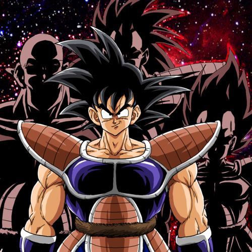 Default you are a saiyan  son goku by bk 81