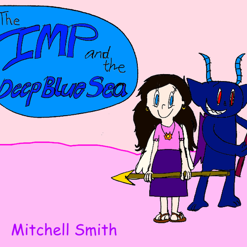 Default the imp and the deep blue sea front cover