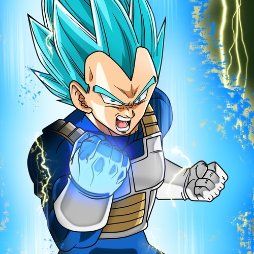 Default vegeta super saiyan blue dbs  1848