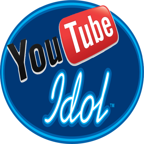 Default youtube idol logo transparent circle