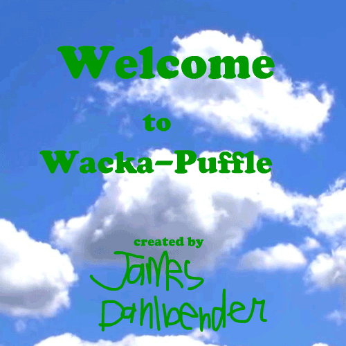 Default welcome to wacka puffle poster