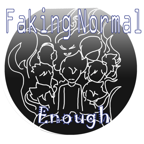 Default faking normal enough logo 2