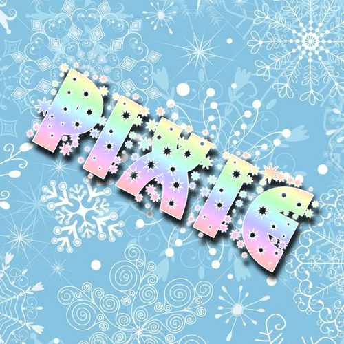 Default 11318680 gentle blue pastel christmas pattern with snowflakes vector  stock vector